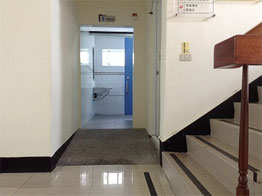 無障礙廁所入口